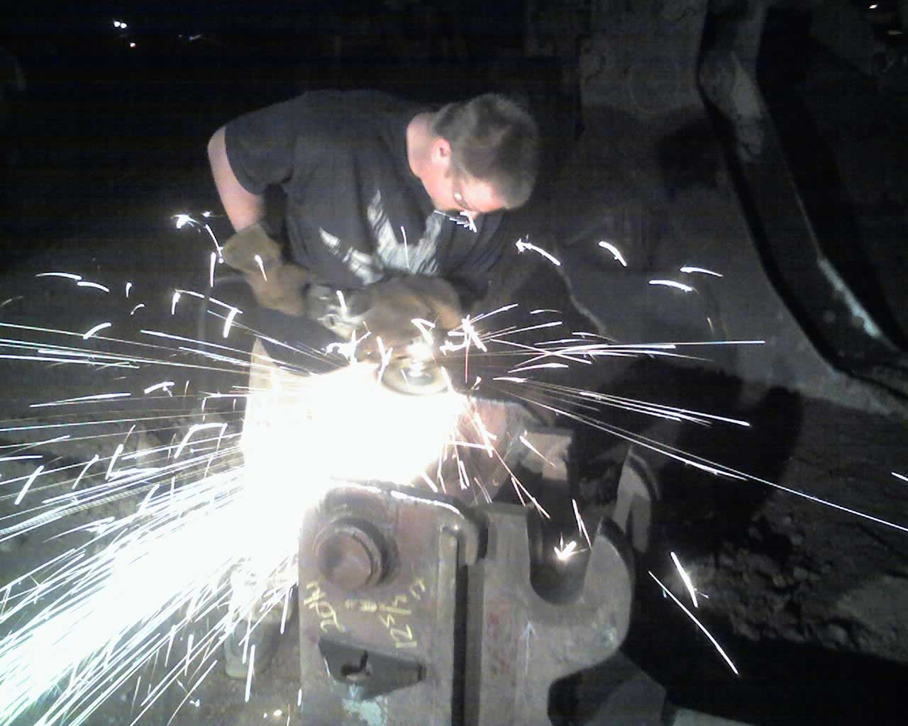 Welding Heavy Equipment