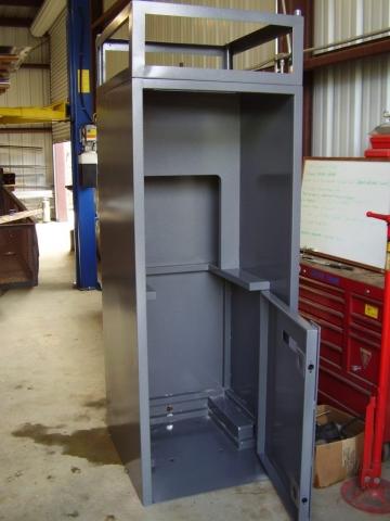 Custom Metal Cabinet