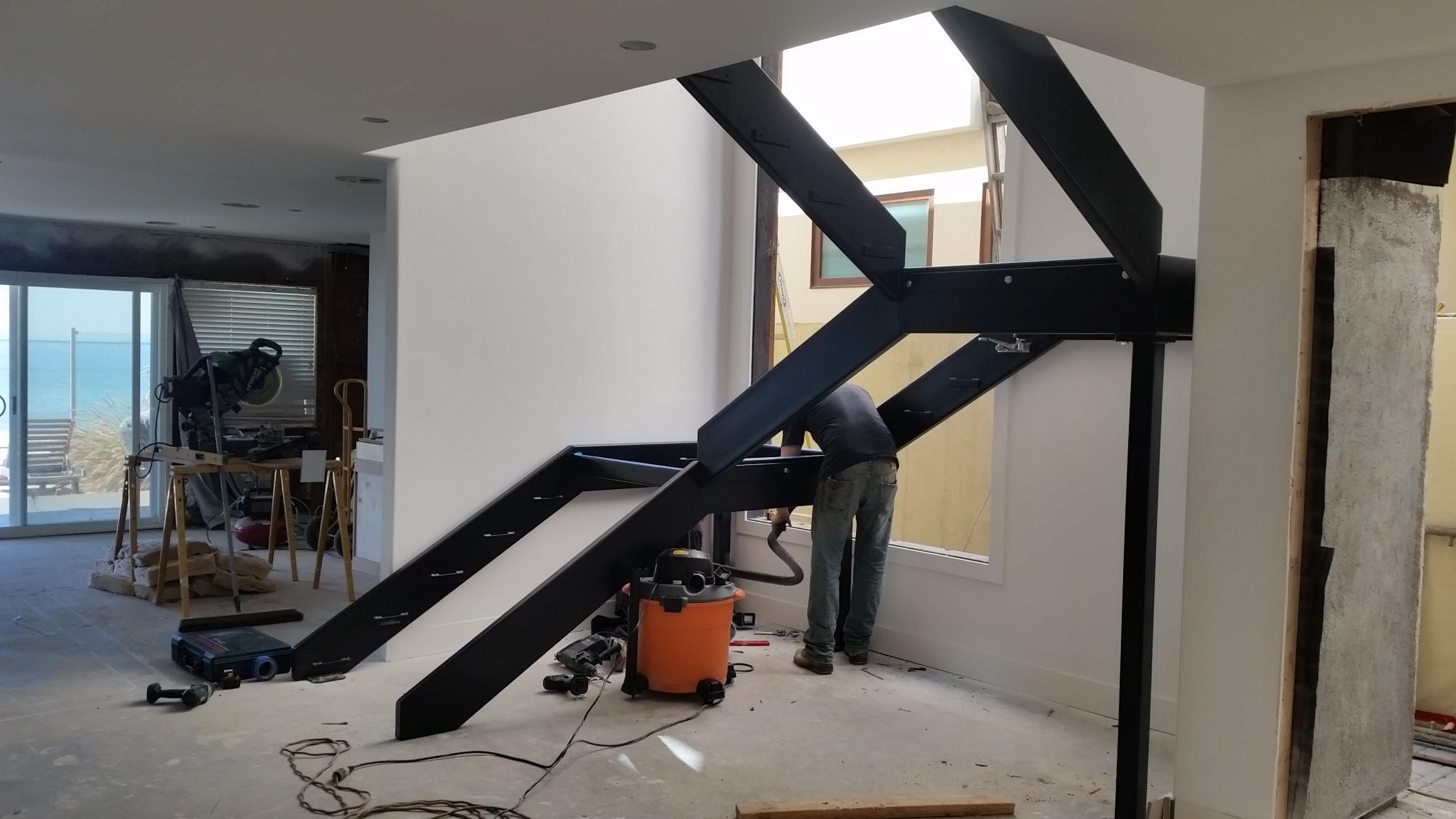 Stairway Metal Frame