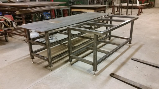 Welding for Custom Metal Table