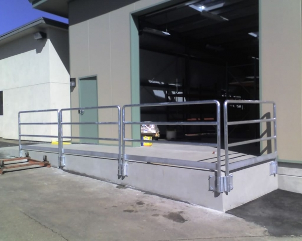 Commercial Warehouse Railing