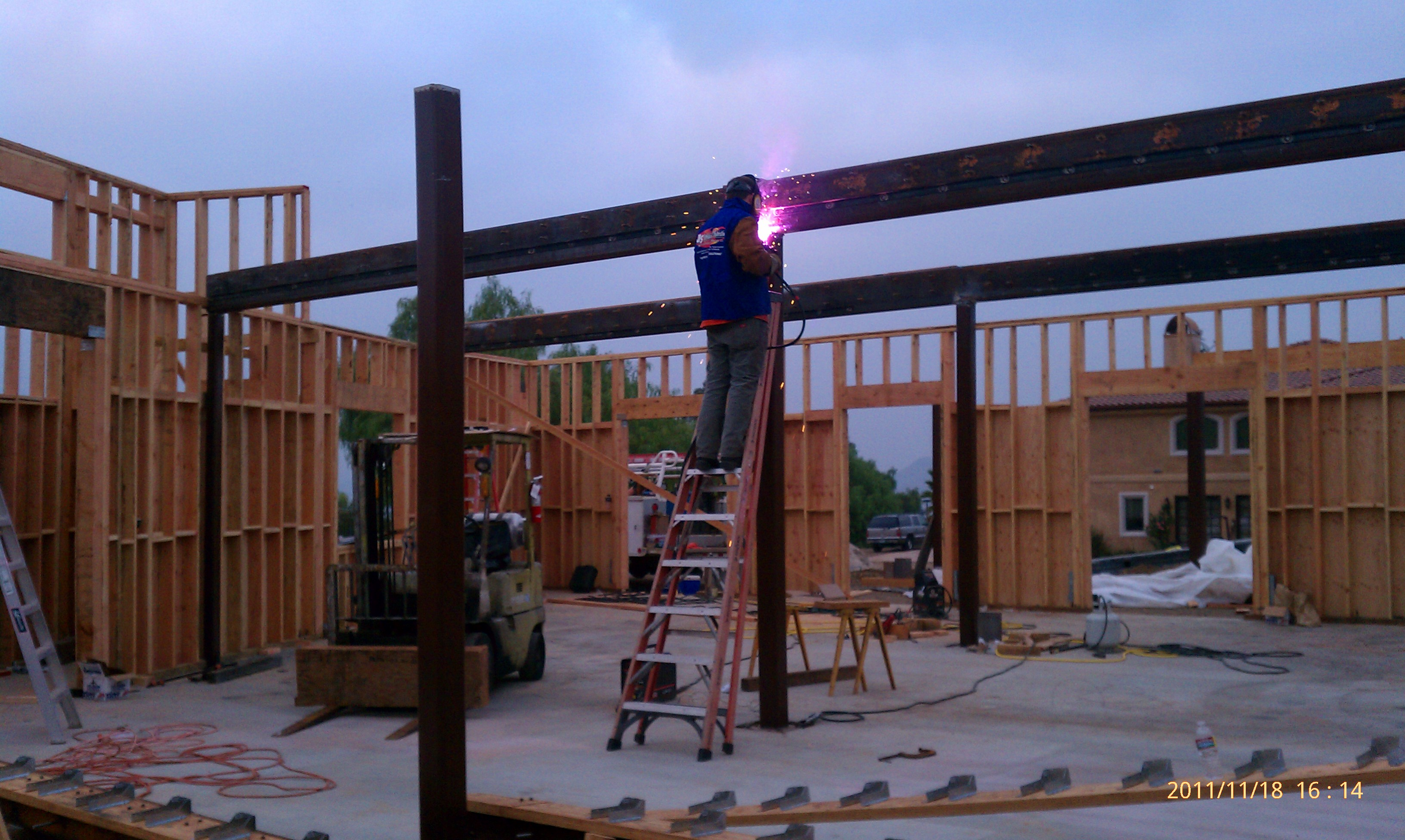 Metal Girder Framing