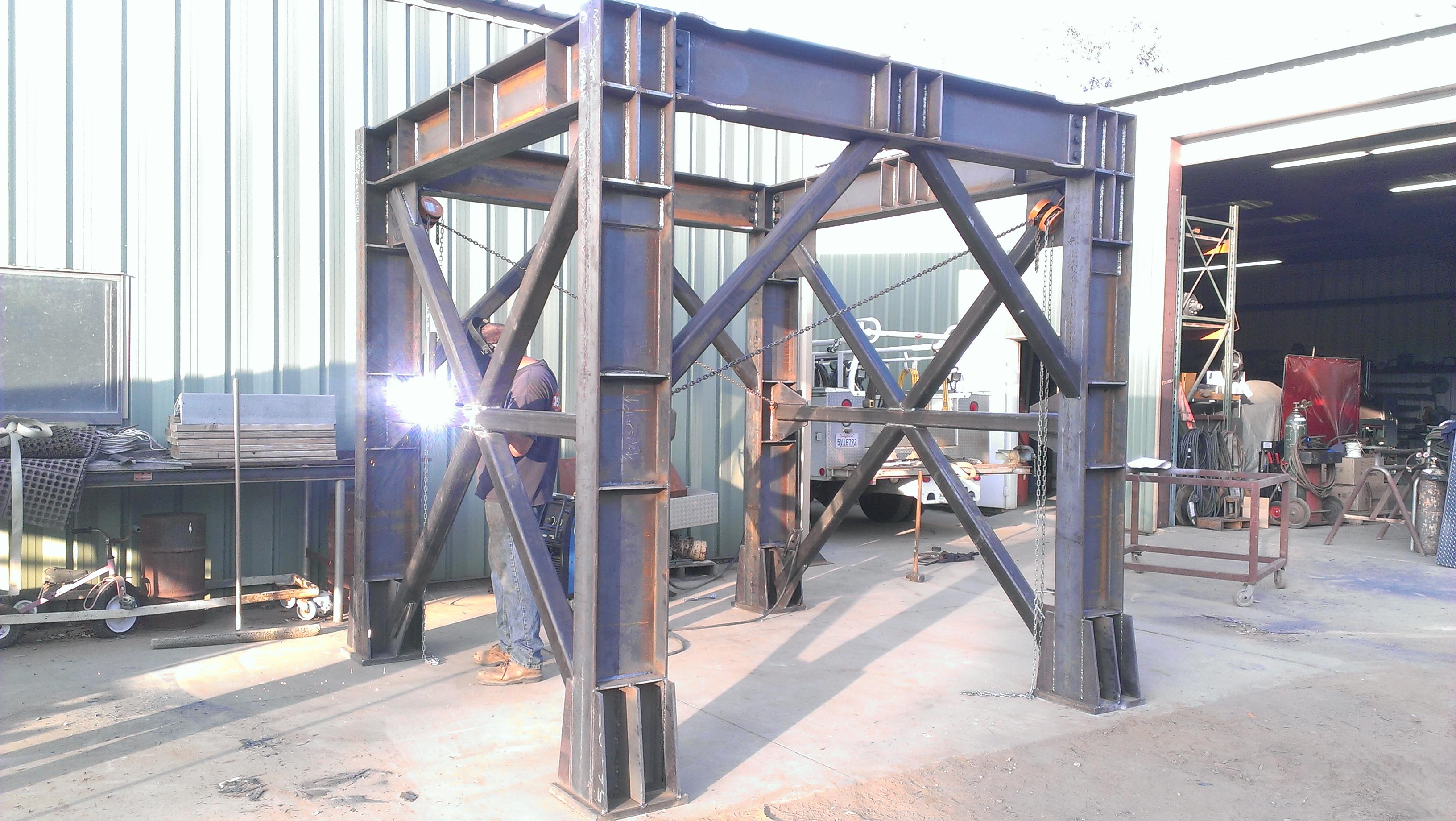 Industrial Metal Framework