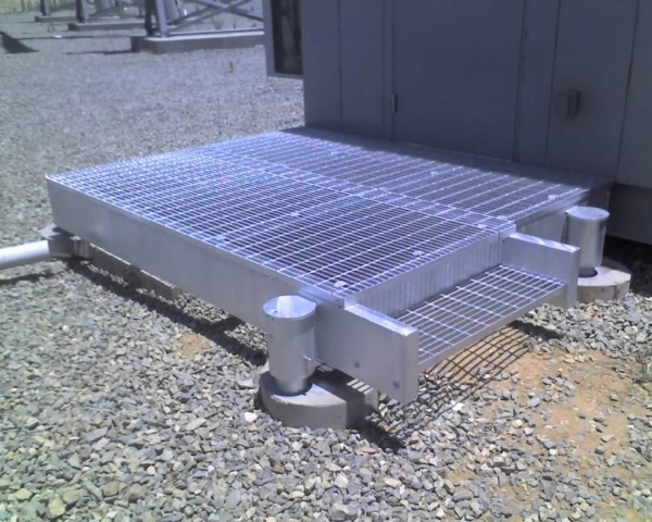 Industrial Metal Grating