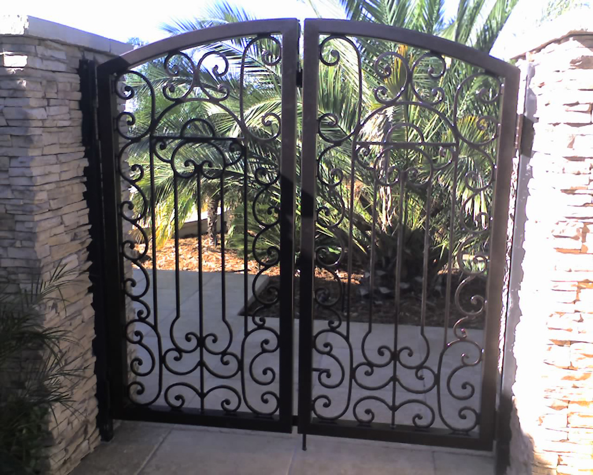 Swinging Custom Entry Gate