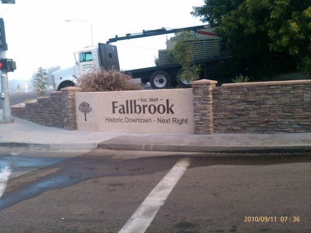 Fallbrook Historic Downtown Sign