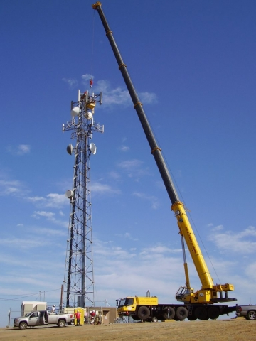 Cell Tower Welding